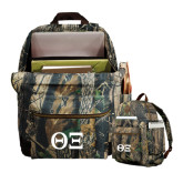 Heritage Supply Camo Computer Backpack-Greek Letters - One Color