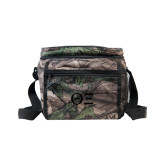 Big Buck Camo Junior Sport Cooler-Greek Letters - One Color Tone