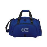 Challenger Team Navy Sport Bag-Greek Letters - One Color