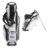 Callaway Hyper Lite 4 White Stand Bag-Greek Letters - One Color