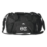 High Sierra Black Switch Blade Duffel-Greek Letters - One Color