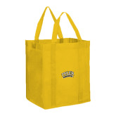 Non Woven Gold Grocery Tote-Tyler Apaches Arched