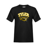 Youth Black T Shirt-Official Logo