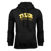 Black Fleece Hoodie-Tyler Apaches Arched
