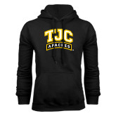 Black Fleece Hoodie-TJC Apaches Arched