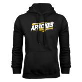 Black Fleece Hoodie-Slanted Apaches
