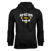 Black Fleece Hoodie-Tyler Apaches Baseball Diamond