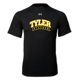 Under Armour Black Tech Tee-Tyler Apaches Arched