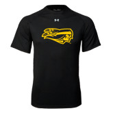 Under Armour Black Tech Tee-Apache Head