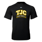 Under Armour Black Tech Tee-Softball