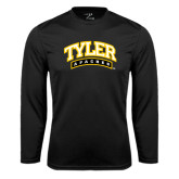 Syntrel Performance Black Longsleeve Shirt-Tyler Apaches Arched