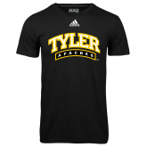 Adidas Climalite Black Ultimate Performance Tee-Tyler Apaches Arched