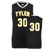 Replica Black Adult Basketball Jersey-#30