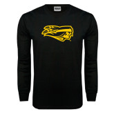 Black Long Sleeve TShirt-Apache Head