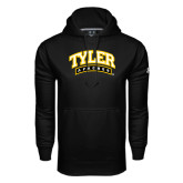 Under Armour Black Performance Sweats Team Hoodie-Tyler Apaches Arched