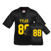 Youth Replica Black Football Jersey-#88