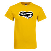 Gold T Shirt-Apache Head