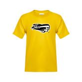 Youth Gold T Shirt-Apache Head