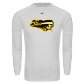 Under Armour White Long Sleeve Tech Tee-Apache Head