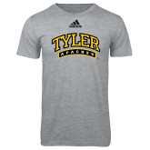 Adidas Sport Grey Logo T Shirt-Tyler Apaches Arched