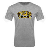 Grey T Shirt-Tyler Apaches Arched