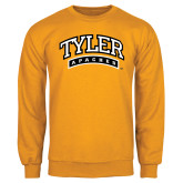 Gold Fleece Crew-Tyler Apaches Arched