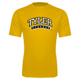 Performance Gold Tee-Tyler Apaches Arched