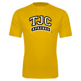 Performance Gold Tee-TJC Apaches Arched