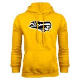 Gold Fleece Hoodie-Apache Head
