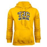 Gold Fleece Hoodie-TJC Apaches Arched