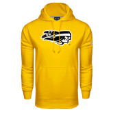Under Armour Gold Performance Sweats Team Hoodie-Apache Head