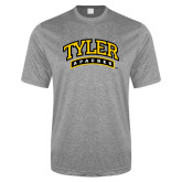 Performance Grey Heather Contender Tee-Tyler Apaches Arched