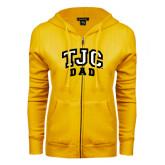 ENZA Ladies Gold Fleece Full Zip Hoodie-Dad
