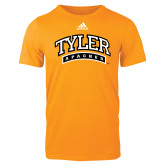 Adidas Gold Logo T Shirt-Tyler Apaches Arched