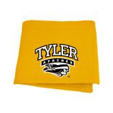 Gold Sweatshirt Blanket-Official Logo