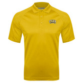 Gold Textured Saddle Shoulder Polo-Tyler Apaches Arched