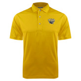 Gold Dry Mesh Polo-Official Logo