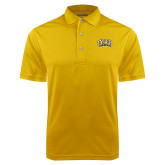 Gold Dry Mesh Polo-Tyler Apaches Arched