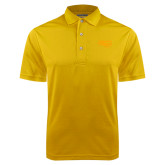 Gold Dry Mesh Polo-Apache Head