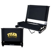 Stadium Chair Black-Tyler Apaches Arched