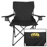 Deluxe Black Captains Chair-Tyler Apaches Arched