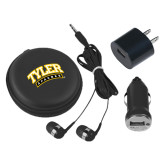 3 in 1 Black Audio Travel Kit-Tyler Apaches Arched