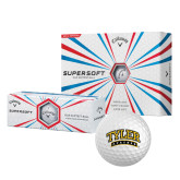 Callaway Supersoft Golf Balls 12/pkg-Tyler Apaches Arched