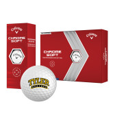 Callaway Chrome Soft Golf Balls 12/pkg-Tyler Apaches Arched