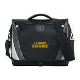 Slope Black/Grey Compu Messenger Bag-UC DAVIS Aggies