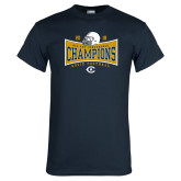 Navy T Shirt-2018 Football Conference Champions