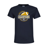 Youth Navy T Shirt-2018 Big Sky Conference Champions