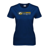 Ladies Navy T Shirt-UCD Season Ticket Holder