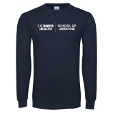Navy Long Sleeve T Shirt-School of Medicine