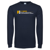 Navy Long Sleeve T Shirt-College of Agricultural and Environmental Sciences